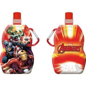 Borraccia pieghevole con moschettone Avengers