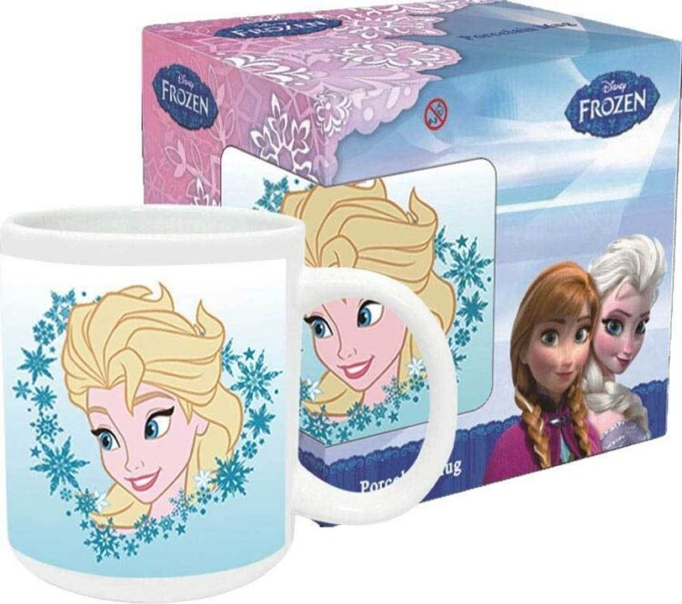 Tazza mug in ceramica Disney Frozen Elsa