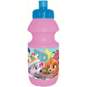 Paw Patrol Bottiglia Sport in plastica rosa