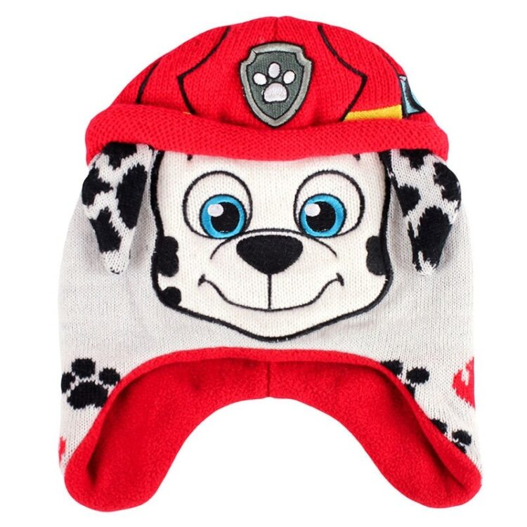 Paw Patrol - Cappellino peruviano Marshall con orecchie