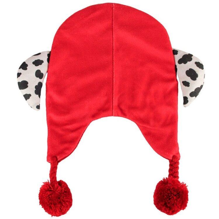 Paw Patrol - Cappellino peruviano Marshall con orecchie e pon-pon