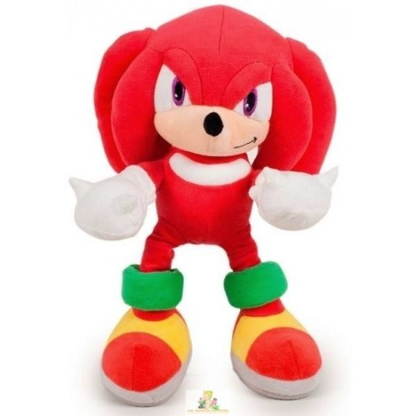 Peluche Sonic Knuckles 30cm