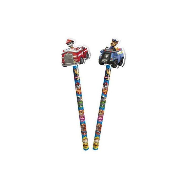 Espositore 36 matite con gomma sagomata Paw Patrol