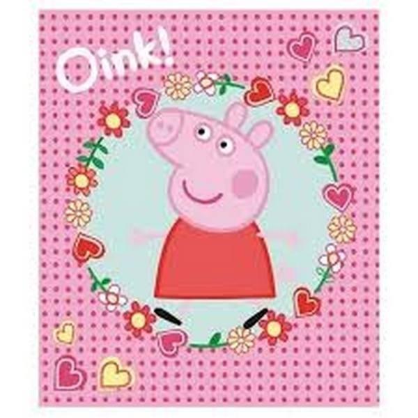 Plaid in Pile Peppa Pig Oink