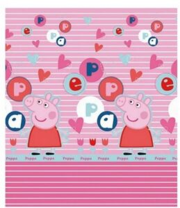 Plaid in Pile Peppa Pig Lettere