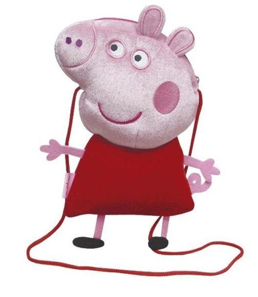 Borsetta peluche sagomata Peppa Pig