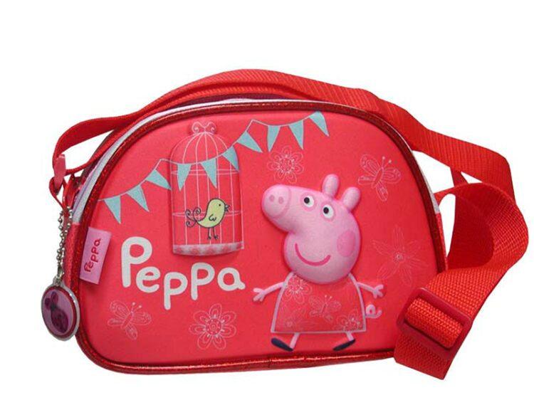 Borsa tracolla Peppa Pig 3D
