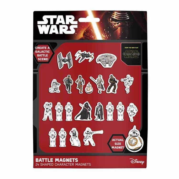 Set 24 magneti sagomati Star Wars