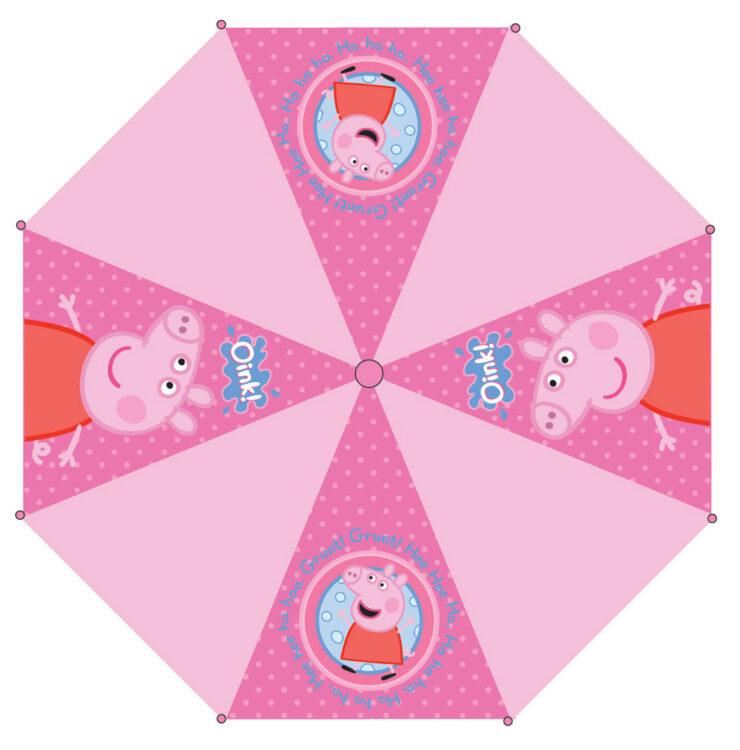 Ombrello automatico Peppa Pig Rosa