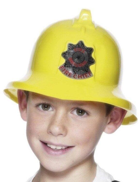 Elmetto giallo da Pompiere