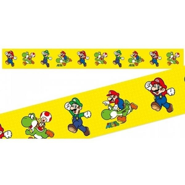 Festone giallo Super Mario Bros