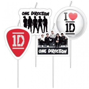 Confezione 4 candeline One Direction