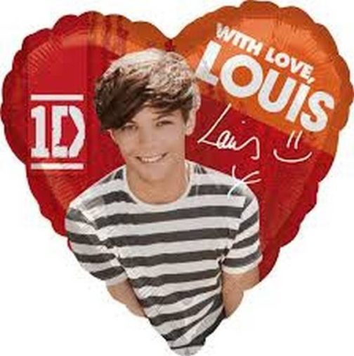 Palloncino a elio Louis One Direction