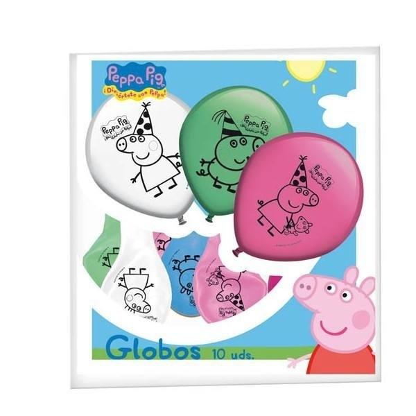 Palloncini vari colori per festa Peppa Pig