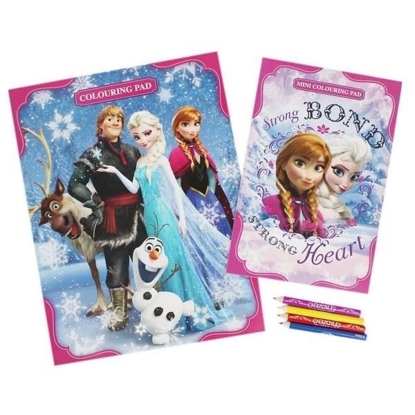 Set album e colori Disney Frozen