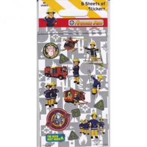 Set Stickers Sam il Pompiere 6pz