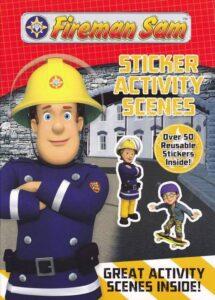 Set Attività con Stickers Sam il Pompiere