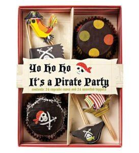 Set pirottini per cupcakes Pirati