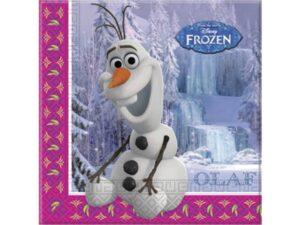 Tovaglioli festa Olaf Winter Disney Frozen