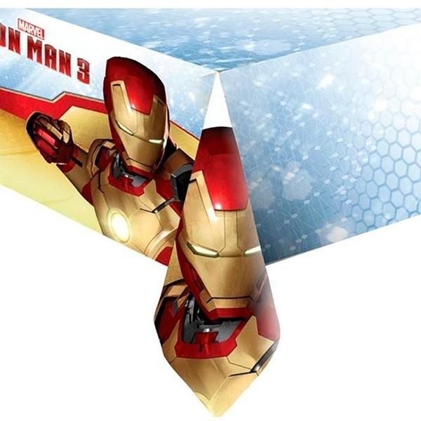 Tovaglia in pvc per festa Iron Man