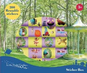 Box 200 adesivi La foresta dei Sogni