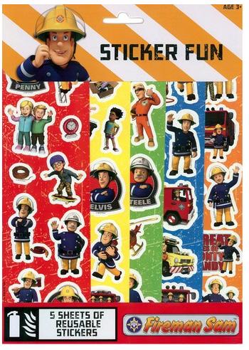 Sticker fun Sam il Pompiere