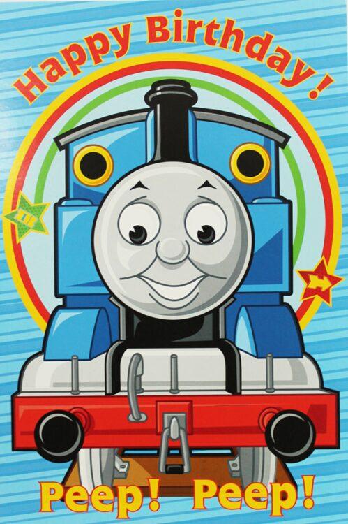 Biglietto Auguri XL Trenino Thomas generico