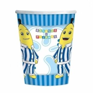 Bicchieri festa Banane in Pigiama