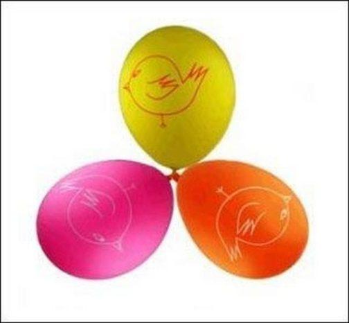 Palloncini per festa Charlie e Lola