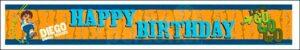 Festone Go Diego Happy Birthday