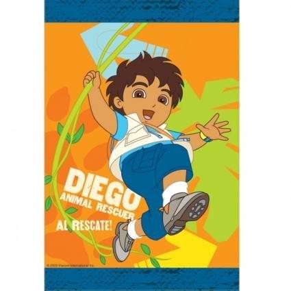 Confezione 8 sacchetti per regalini Diego