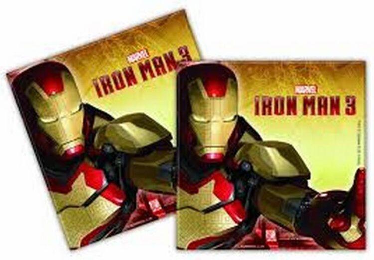 Tovaglioli festa Iron Man 3