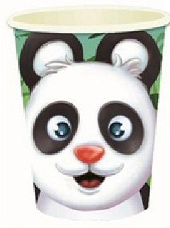 Bicchieri festa Panda 8pz