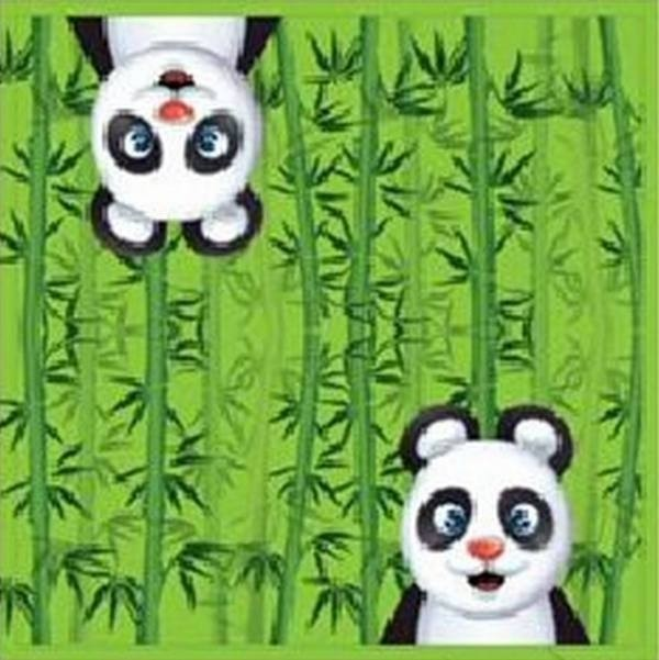 Tovaglioli festa Panda