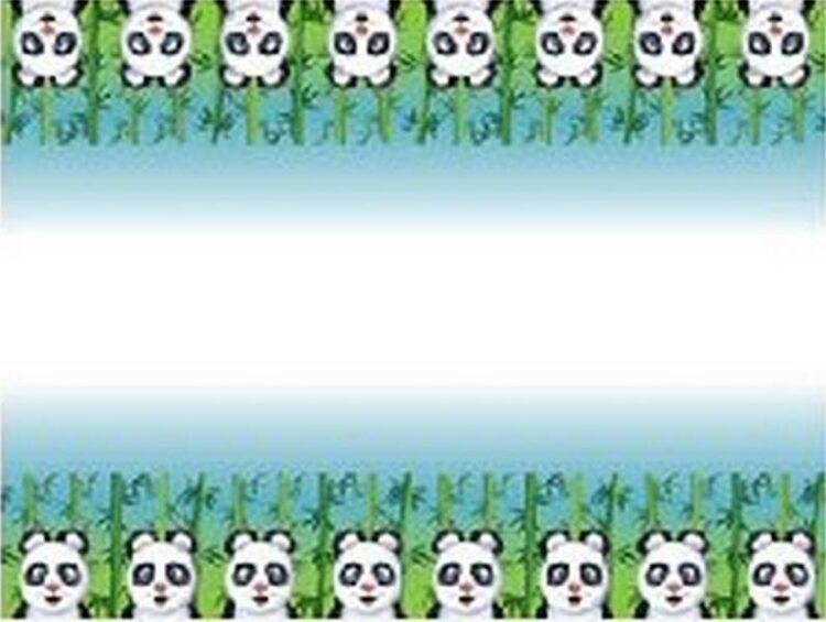 Tovaglia festa Panda
