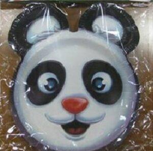 Piatti festa sagomati Panda 8pz