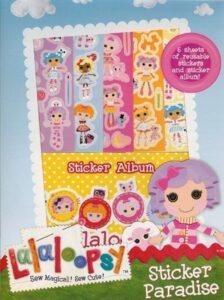 Album con adesivi Lalaloopsy
