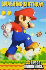 Biglietto Auguri XL Super Mario generico