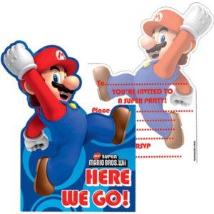 Inviti per festa Super Mario