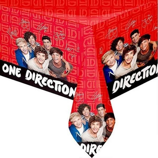 Tovaglia festa One Direction
