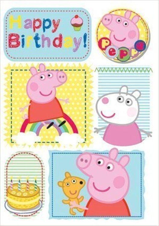 Auguri Compleanno Peppa Pig generico