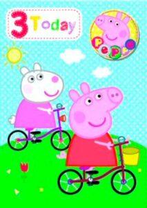 Auguri Compleanno Peppa Pig 3 anni