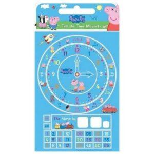 Orologio didattico Peppa Pig con magneti