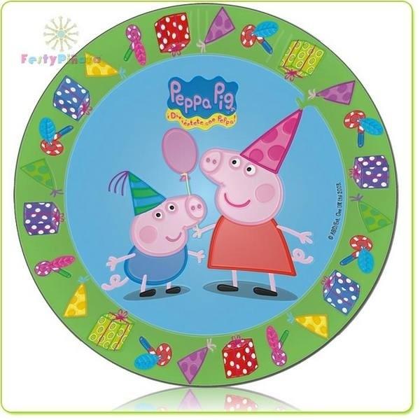 Piatti per festa Peppa Pig