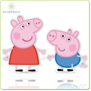 Sagome decorative Peppa Pig e George