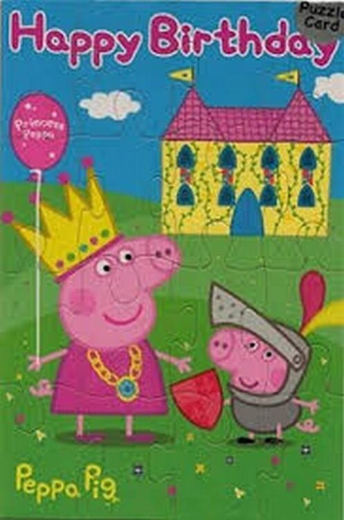 Puzzle Happy Birthday Peppa Pig