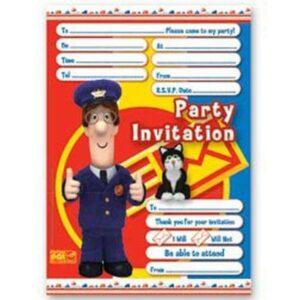 Inviti per festa Pat il Postino