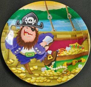 Piatti festa Pirati
