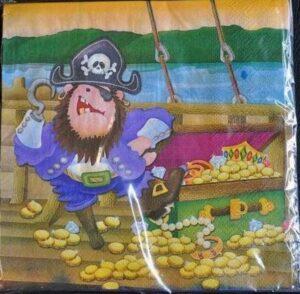 Tovaglioli Festa Pirati