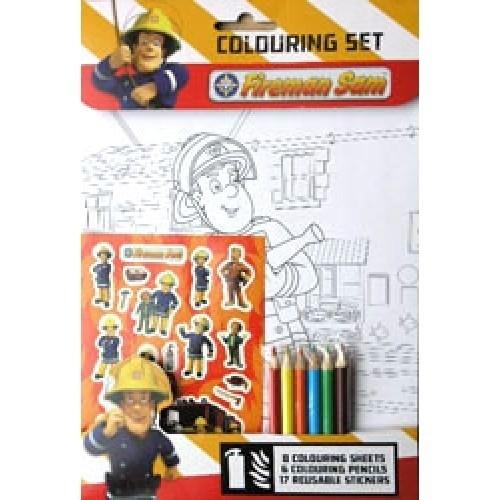 Set disegno Sam Il Pompiere